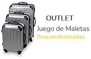 outlet juego de maletas reacondicionado