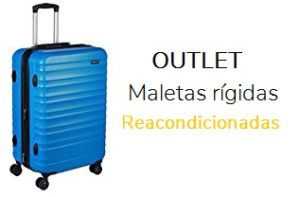 outlet maletas rigidas reacondicionada