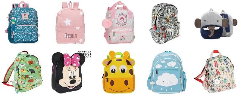 Mochilas infantiles en comprarmimaleta online