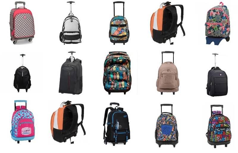 mochilas con ruedas en comprarmimaleta online
