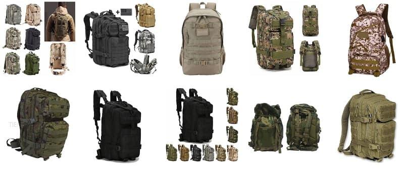 mochila militar en comprarmimaleta online